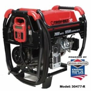 Briggs Stratton 7000 Watt Xp Series Portable Gas Generator Model 030478