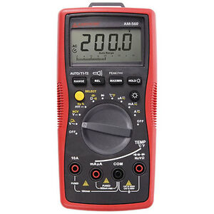 Amprobe Am 560 Advanced Hvac Multimeter
