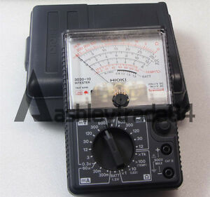 New Made In Japan Hioki Analog Multimeter Hitester 3030 10