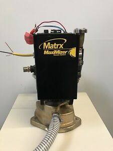 Mds Matrx Max 2000 2 Horsepower Dental Wet ring Vacuum Suction Pump W muffler