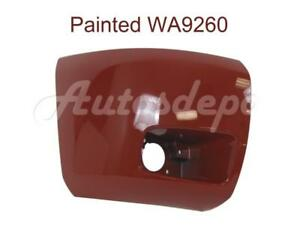 Painted Wa9260 Front Bumper End Cap Rh W fog Hole For 2008 2013 Silverado 1500