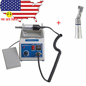 Dental Lab Marathon Micromotor 35k Rpm Nsk Style Contra Angle Handpiece Usa