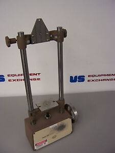 6705 Chatillon Manual Pull Tester Stand Bench Top Unit 250 Lb Max Travel 3