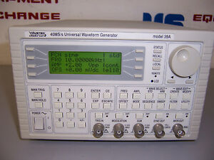 9150 Wavetek 39a 40 Ms s Universal Waveform Generator