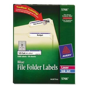 Avery Permanent Filing Labels 5766