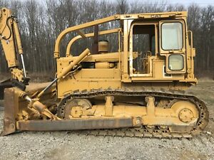 Caterpillar D6d Dozer Crawler Runs Excellent