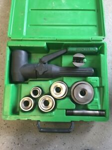 Greenlee 7906sb Quick Draw 90 Hydraulic Punch Driver Set