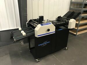 Graphic Whizard 12000 Numbering Perforating Scoring Machine Fully serviced