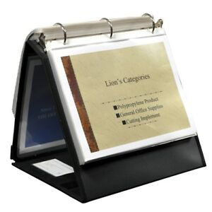 Lion Office 1 1 2 Ring Binder Easel 40009bk