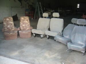 6 Bucket Seats For Car Truck Rat Street Rod Chevy Ford Dodge Plymouth