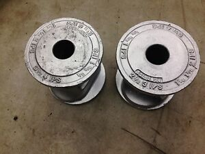 Lot Of 2 Greenlee 1 0934 Conduit Support Rollers For 884 Bender