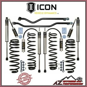 Icon 3 Stage 3 Suspension Lift System Kit For 2007 2018 Jeep Wrangler Jk K22003