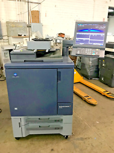 Konica Minolta Bizhub Press C1060 Copier Very Low Color Meter Only 17k