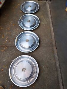 Cadillac Hubcaps Vintage Set Of 4