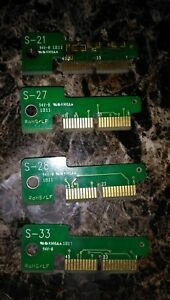 Snap On Personality Key Set Lot 4 Scanner Set Keys European Modis Verus Solus