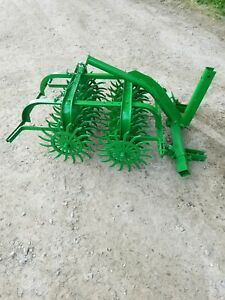 Used John Deere 44 Spike Aerator 3pt We Can Ship