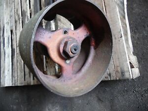 Allis Chalmers Styled Wc Gas Farm Tractor Belt Pulley Assembly