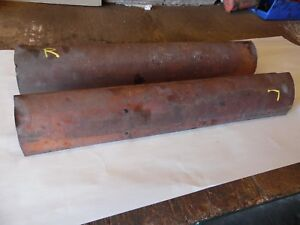 Allis Chalmers Styled Wc Gas Farm Tractor Frame Rail Shields Wow Look In