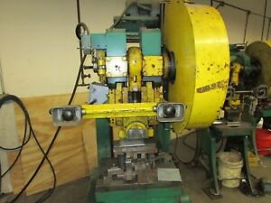 Rousselle 3 25 Ton Mechanical Stamping Press Punch