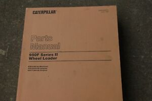 Cat Caterpillar 950f Wheel Loader Parts Manual Book Shop Catalog Spare Front End