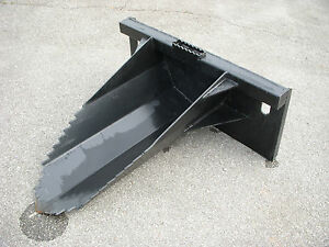 Bobcat Skid Steer Attachment Tree Stump Spade Bucket Digger Free Shipping