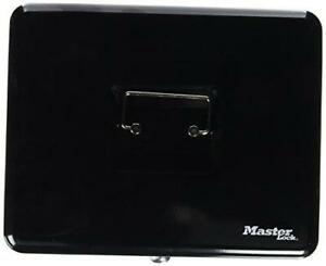 Master Lock 7111d Locking Cash Box With 6 Compartment Tray