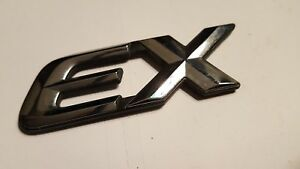 Honda Civic Ex Emblem 96 00 Back Trunk Genuine Oem Chrome Badge Sign Symbol Logo
