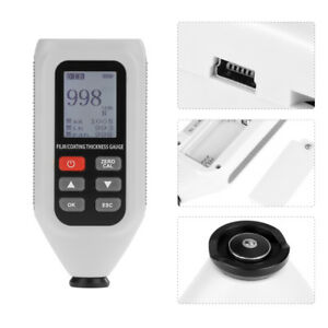 Ht 128 Digital Coating Thickness Meter Gauge Painting Paint Thickness Tester