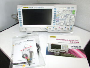 Rigol Ds1054z Digital Oscilloscope 4 Channels 50 Mhz