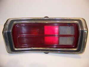 1973 Plymouth Duster Taillight Assy Complete Oem 3679325 Lh 1974 1975 1976