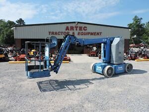 2007 Genie Z30 20n Articulating Boom Lift Jlg Low Hours Good Condition