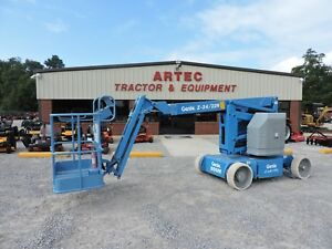 2006 Genie Z34 22n Articulating Boom Lift Jlg Low Hours Good Condition
