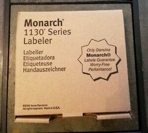 Avery Dennison Monarch 1130 Label Price Gun Series Nib