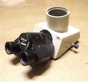 Nikon Trinocular Microscope Head Optiphot Labophot Labophot 2