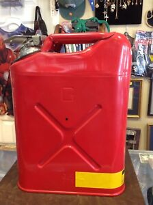 Vintage Justrite Flammable Storage Safety Gas Can No 10951 Type 1