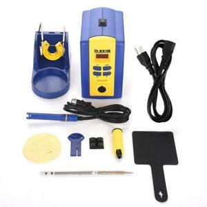 Fx 951 Cnc Welding Soldering Station With T12 k Iron Tip Holder 200 450 75w El