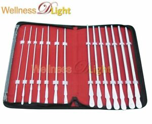 Wdl 14 Pieces Set Of Dittel Urethral Sounds Gynecology Surgical Stainless Steel