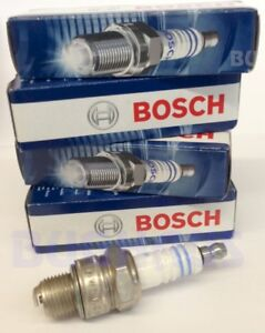 Vw Beetle Bug Bus Thing Ghia Bosch Spark Plugs Wr8ac 4 Pcs Free Ship Fits 1971 Volkswagen Super Beetle Base