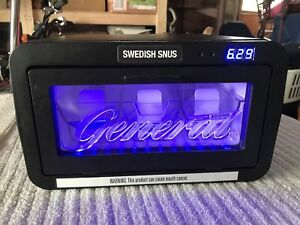 General Snus The Original Swedish Snus Dry Tobacco Lighted Chiller Cooler