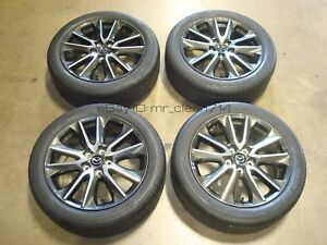 18 2016 17 Mazda Cx 3 Grand Touring Wheels Oem Rims Tires Cx3 Factory Gt 16