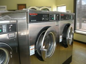 Coin Laundry Equipment Speed Queen Gold Single Phase Washers Dryers