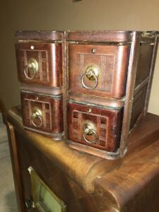 Vintage White Treadle Sewing Machine Drawers And Frames