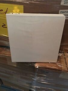 20 Sparco White 3 ring View Binder 2 Capacity D ring White Lot Of 20