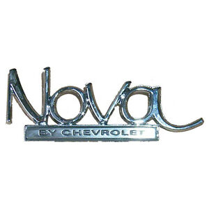 Emblem Rear 1969 1972 Chevy Nova 4012 702 69