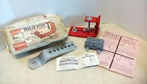 Nos Vintage Ideal Trailer Hitch Bumper To Frame Type Chevelle Tempest Edsel