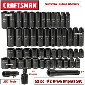 Craftsman 1 2 Drive 48 Pc Empty Molded Impact Socket Case New No Tools