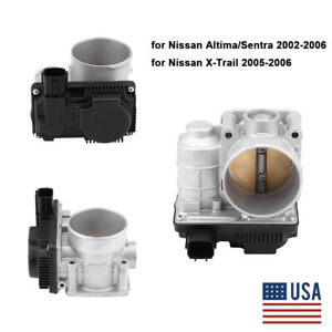 Throttle Body 16119 ae013 For Nissan 2002 2003 2004 2005 2006 Altima Sentra 2 5l