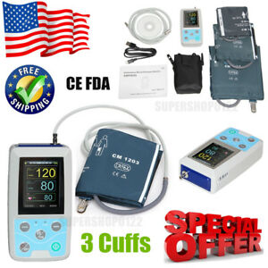 Us Seller Abpm50 Ambulatory Blood Pressure Monitor 24h Nibp Holter software Fda