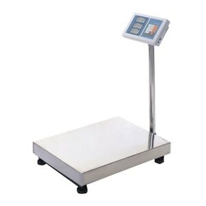 660lbs Weight Computing Digital Floor Platform Scale Postal Shipping Mailing Us