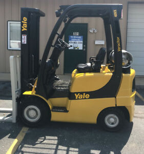 2005 Yale Propane Forklift Glp040 Only 433 Hours Glp040svxnurf084 Lp Lift